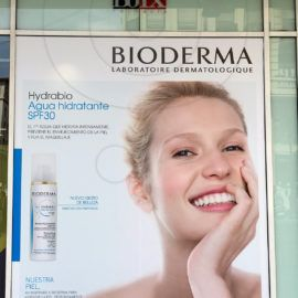 Escaparate Hydrabio Laboratorios Bioderma