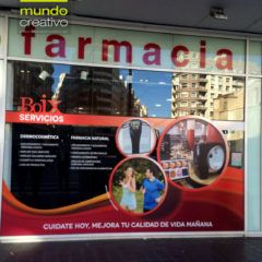 Escaparate farmacia